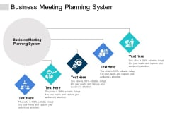 Business Meeting Planning System Ppt PowerPoint Presentation File Aids Cpb