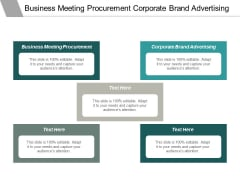 Business Meeting Procurement Corporate Brand Advertising Time Loans Ppt PowerPoint Presentation Styles Inspiration Cpb
