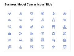 Business Model Canvas Icons Slide Ppt Styles Introduction PDF