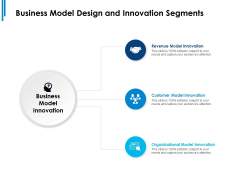 Business Model Design And Innovation Segments Ppt PowerPoint Presentation Professional Graphics