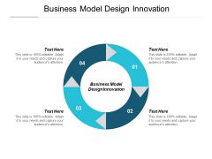 Business Model Design Innovation Ppt PowerPoint Presentation Slides Design Inspiration Cpb