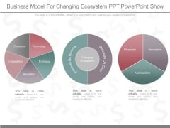 Business Model For Changing Ecosystem Ppt Powerpoint Show
