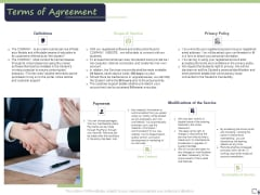 Business Model For E Tutoring Services Proposal Terms Of Agreement Formats PDF