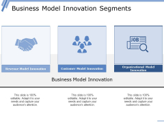 Business Model Innovation Segments Ppt PowerPoint Presentation Summary Introduction