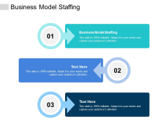Business Model Staffing Ppt PowerPoint Presentation Model Outline Cpb
