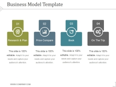 Business Model Template 2 Ppt PowerPoint Presentation Tips