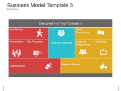 Business Model Template 3 Ppt PowerPoint Presentation Model Outline