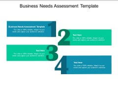 Business Needs Assessment Template Ppt PowerPoint Presentation Gallery Icon Cpb
