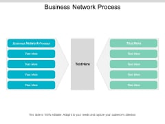 Business Network Process Ppt PowerPoint Presentation Layouts Clipart Cpb