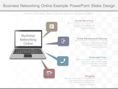 Business Networking Online Example Powerpoint Slides Design