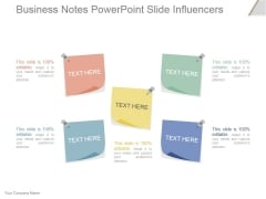 Business Notes Ppt PowerPoint Presentation Layouts