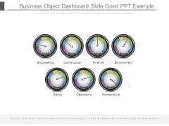 Business Object Dashboard Slide Good Ppt Example
