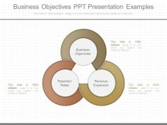 Business Objectives Ppt Presentation Examples