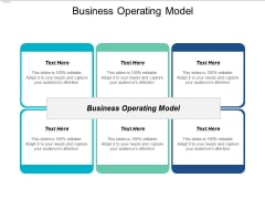 Business Operating Model Ppt PowerPoint Presentation Layouts Gallery Cpb