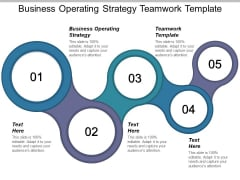 Business Operating Strategy Teamwork Template Ppt PowerPoint Presentation Gallery Portrait