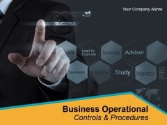 Business Operational Controls And Procedures Powerpoint Presentation Slides