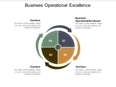 Business Operational Excellence Ppt PowerPoint Presentation Summary Visuals Cpb