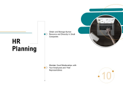 Business Operations Assessment HR Planning Ppt PowerPoint Presentation Styles Graphic Tips PDF