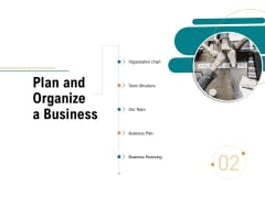 Business Operations Assessment Plan And Organize A Business Ppt Show Gridlines PDF