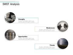 Business Operations Assessment SWOT Analysis Ppt PowerPoint Presentation Styles Icons PDF