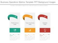 Business Operations Metrics Template Ppt Background Images