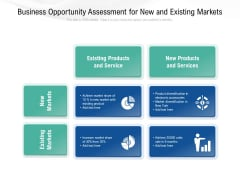 Business Opportunity Assessment For New And Existing Markets Ppt PowerPoint Presentation Professional Rules PDF