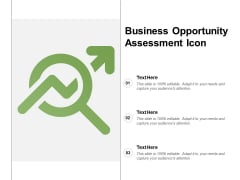 Business Opportunity Assessment Icon Ppt Powerpoint Presentation Icon Maker