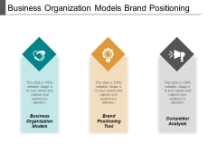 Business Organization Models Brand Positioning Tool Competitor Analysis Ppt PowerPoint Presentation Model Template