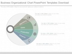 Business Organizational Chart Powerpoint Templates Download