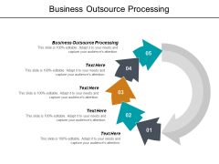 Business Outsource Processing Ppt PowerPoint Presentation Slides Introduction Cpb