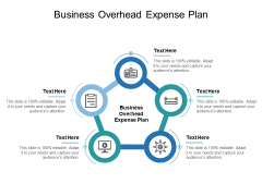 Business Overhead Expense Plan Ppt PowerPoint Presentation Visual Aids Background Images Cpb