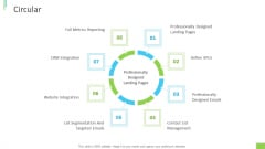 Business Overview PPT Slides Circular Ppt Show Template PDF