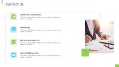 Business Overview PPT Slides Contact Us Ppt Slides File Formats PDF