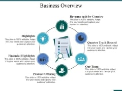 Business Overview Ppt PowerPoint Presentation File Ideas
