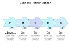 Business Partner Support Ppt PowerPoint Presentation Show Infographics Cpb