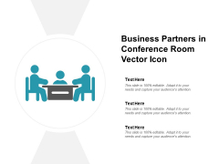 Business Partners In Conference Room Vector Icon Ppt PowerPoint Presentation Portfolio Background Image