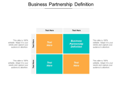 Business Partnership Definition Ppt PowerPoint Presentation Professional Layout Ideas Cpb
