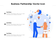 Business Partnership Vector Icon Ppt PowerPoint Presentation Professional Clipart Images PDF
