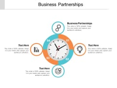 Business Partnerships Ppt PowerPoint Presentation Professional Images Cpb
