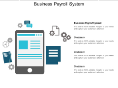 Business Payroll System Ppt PowerPoint Presentation Professional Templates