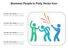 Business People In Party Vector Icon Ppt PowerPoint Presentation Show Smartart PDF