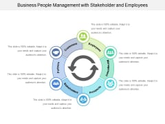 Business People Management With Stakeholder And Employees Ppt PowerPoint Presentation File Show PDF