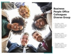 Business People Office Colleagues Diverse Group Ppt Powerpoint Presentation Inspiration Show