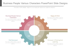 Business People Various Characters Powerpoint Slide Designs