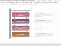 Business People Various Characters Powerpoint Slides Templates