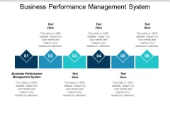 Business Performance Management System Ppt Powerpoint Presentation Outline Show Cpb