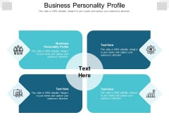 Business Personality Profile Ppt PowerPoint Presentation Layouts Mockup Cpb Pdf