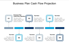 Business Plan Cash Flow Projection Ppt PowerPoint Presentation Gallery Images Cpb