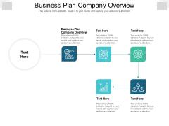 Business Plan Company Overview Ppt PowerPoint Presentation Portfolio Smartart Cpb Pdf