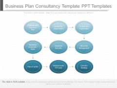 Business Plan Consultancy Template Ppt Templates